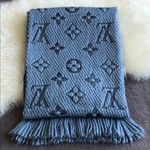 Louis Vuitton silk wool scarf